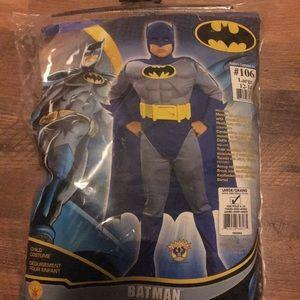 Batman child costume size large new ships tmrw
